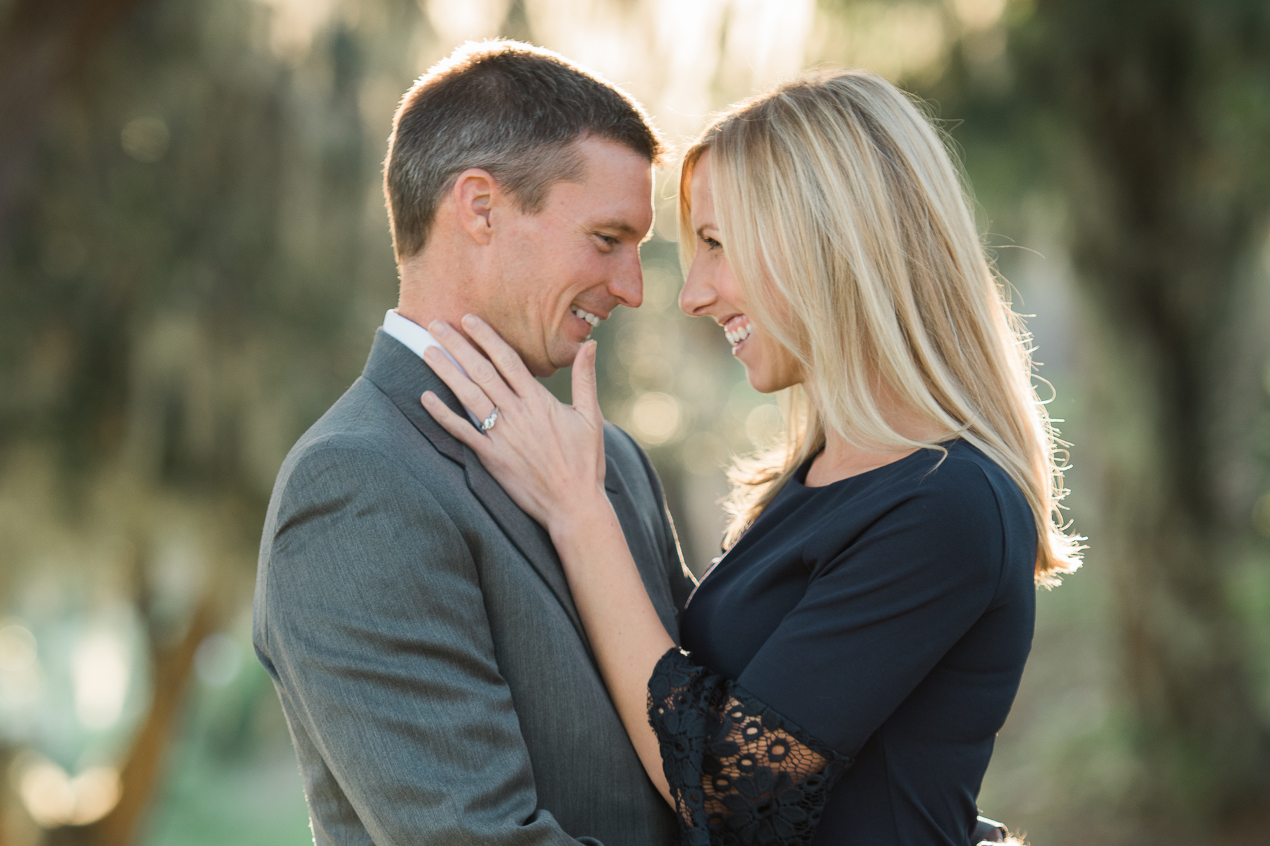 Engagement session. Beaufort, South Carolina