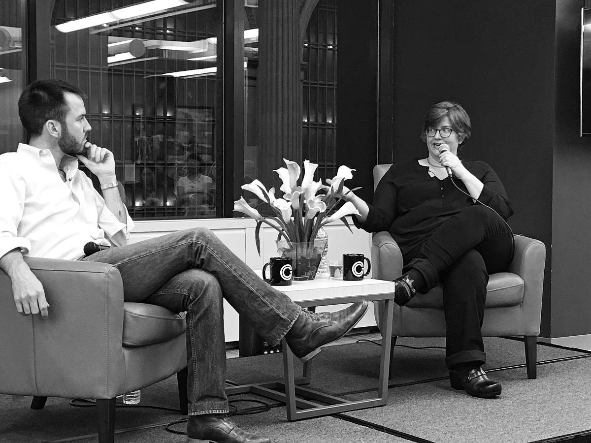 Matt Harrigan, co-founder of Grand Central Tech, interviews Cathy O'Neil, author of  Weapons of Math Destruction