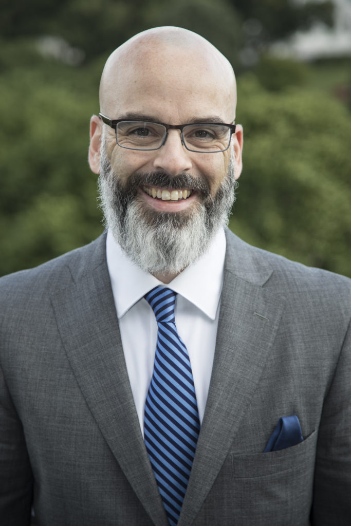 Curt Mercadante, founder of Gravina Public Strategies.  Yes, you are correct, he does resemble a happy version of Shel Silverstein.