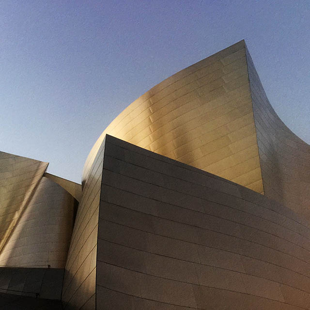 Disney Hall Los Angeles. What a venue.