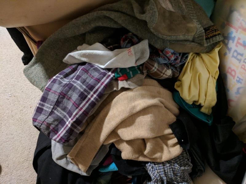 closet donations