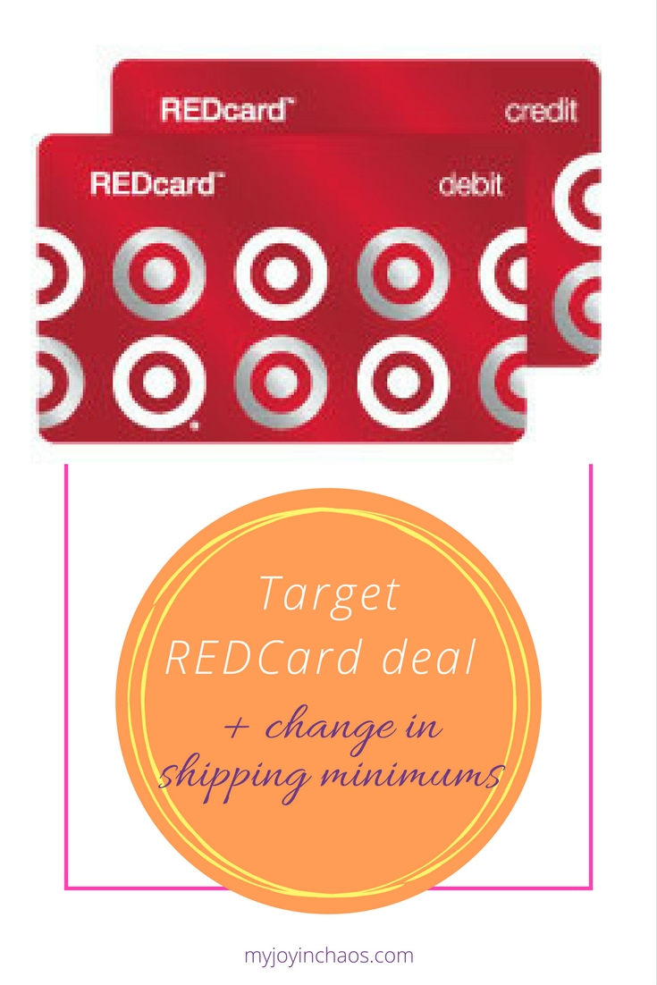 target red card deal