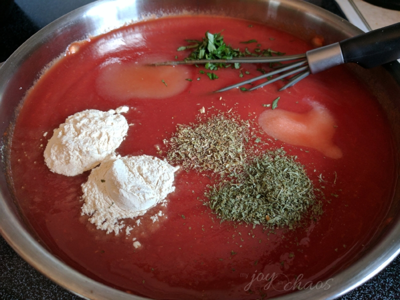 homemade pizza sauce
