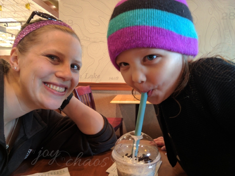 mommy daughter coffee date