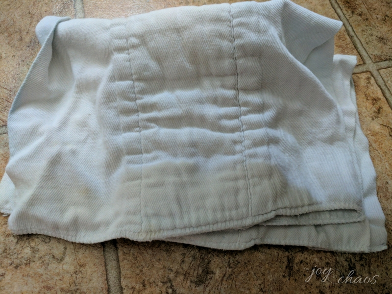 cloth diaper rags