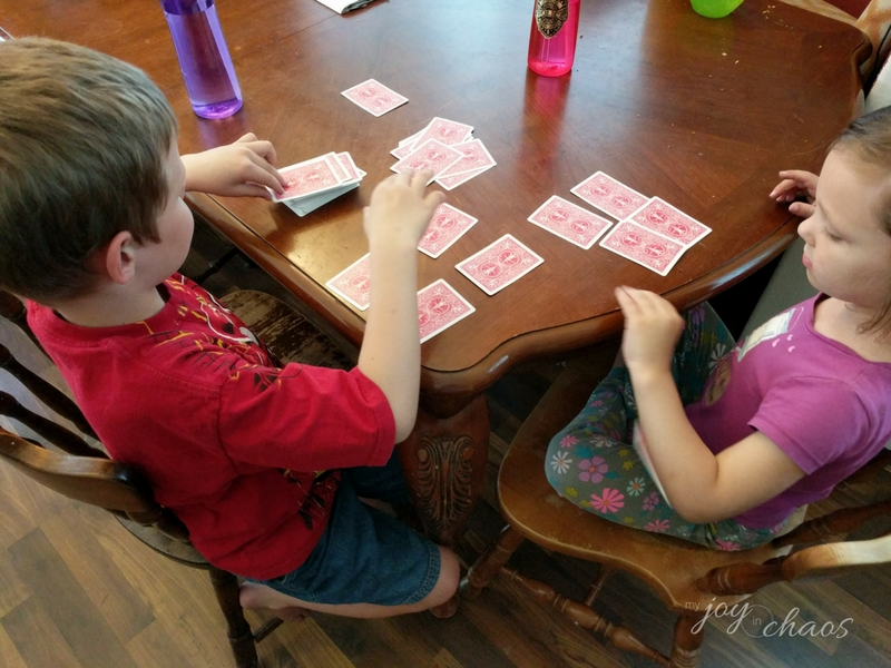 sibling card game