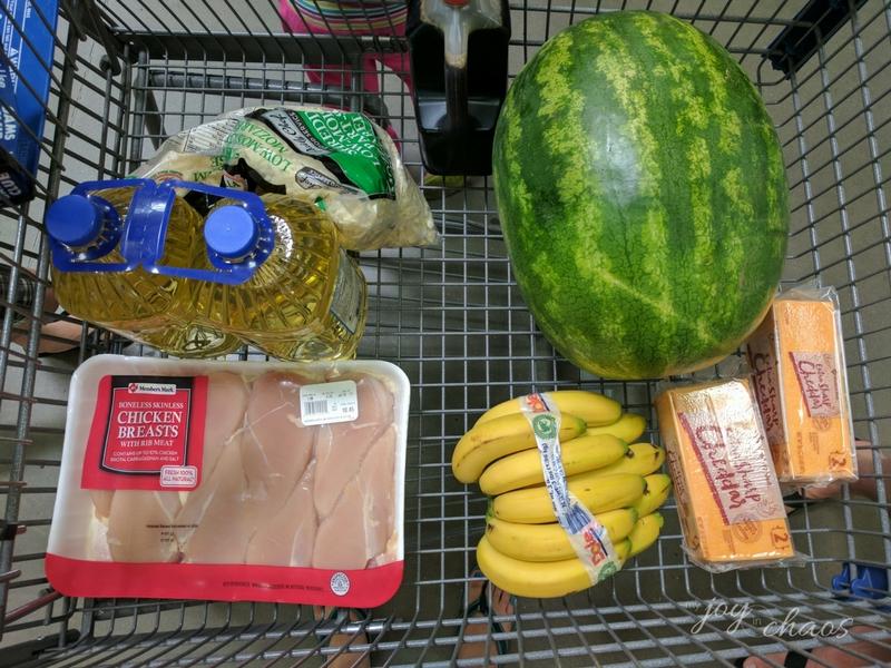 sams grocery trip