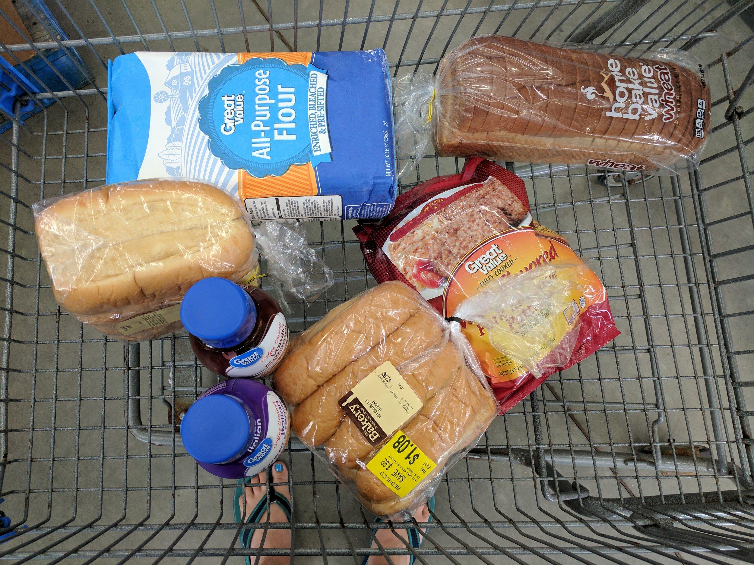walmart grocery trip