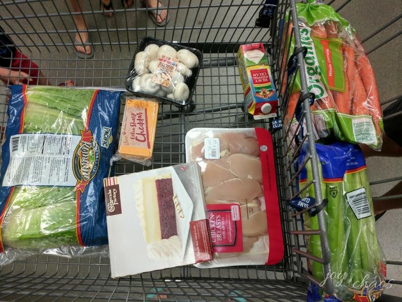 sams club grocery family 7