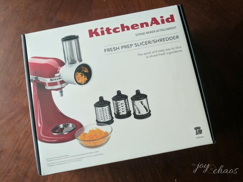 kitchen aid shredder slicer