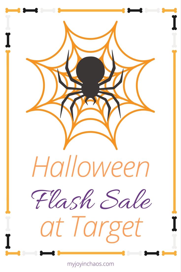 halloween flash sale target