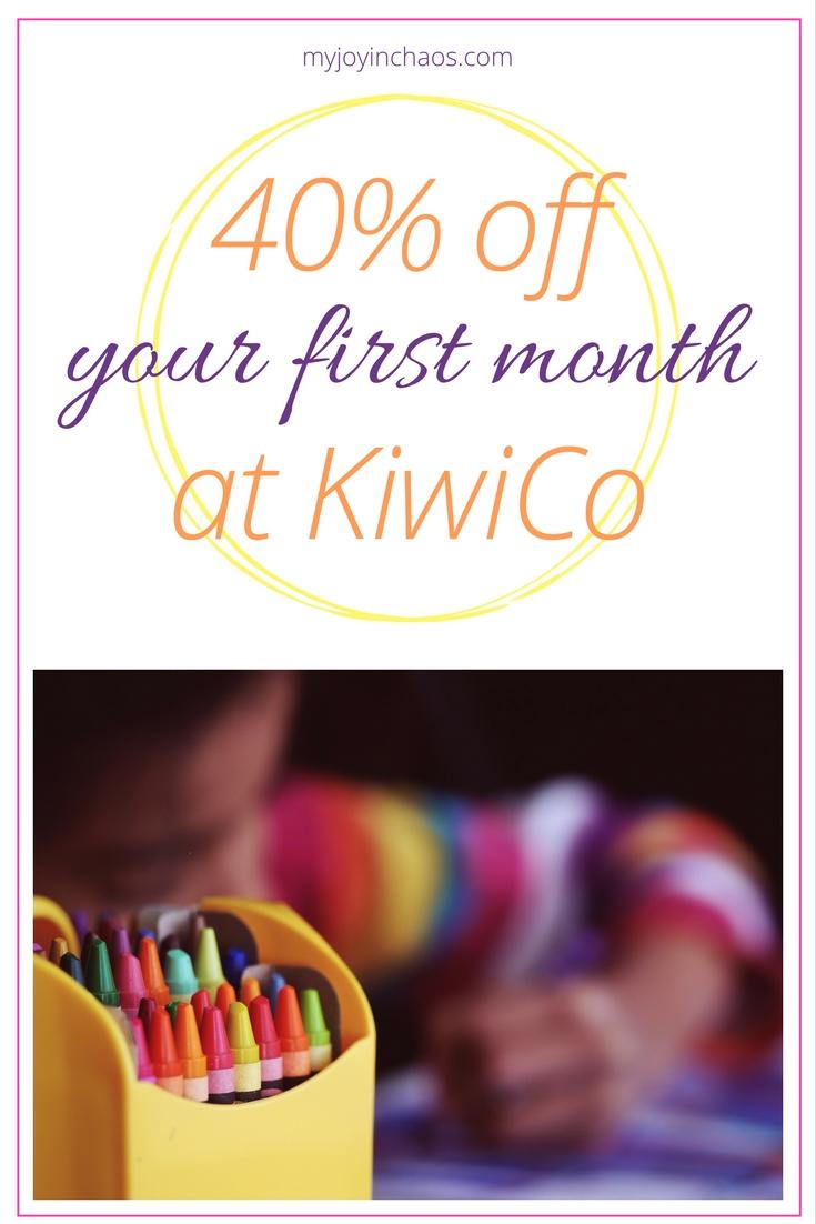 kiwi crate discount