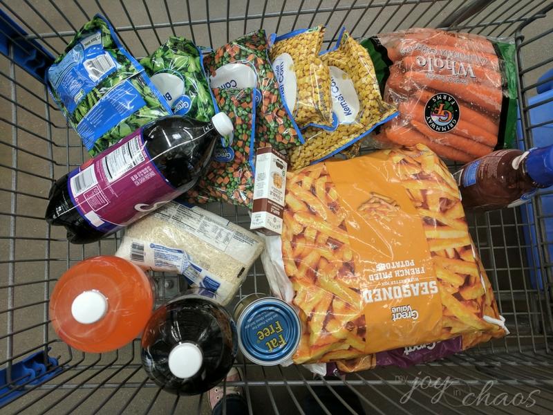 grocery shopping walmart