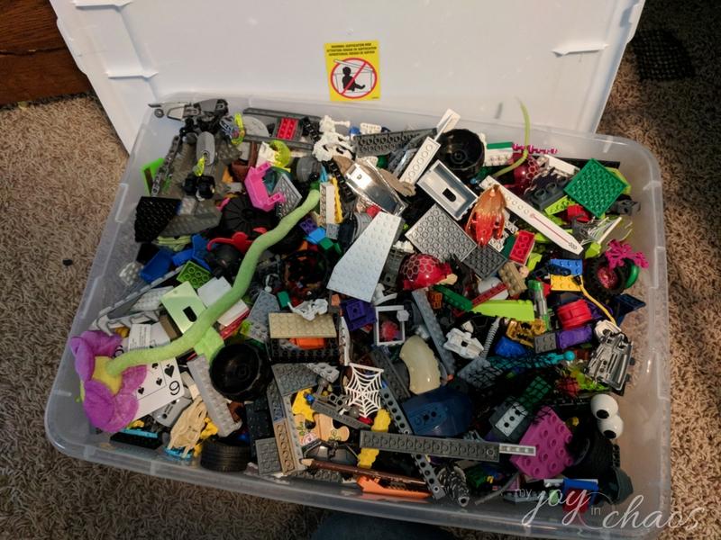 under the bed storage LEGO
