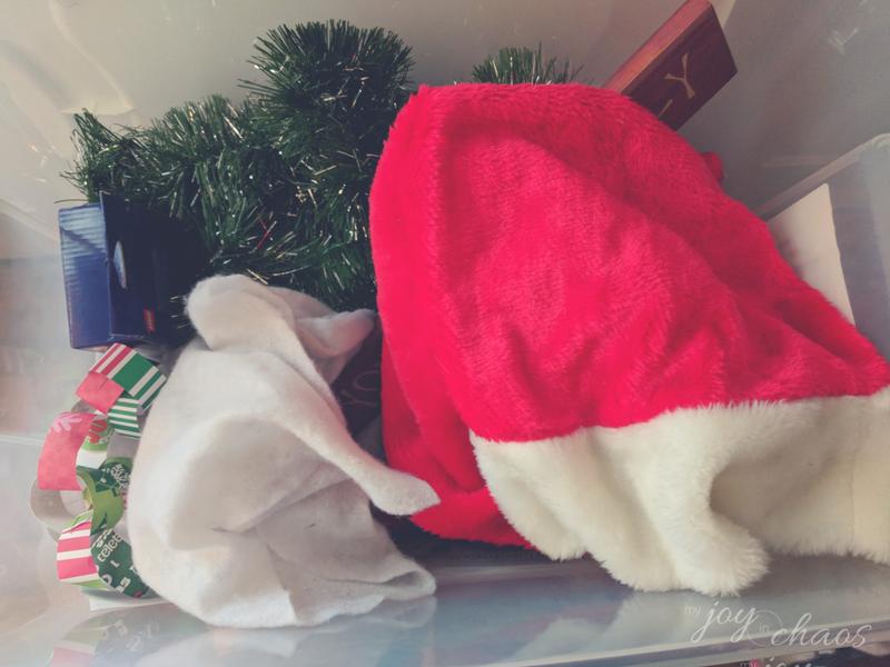 christmas decor clutter