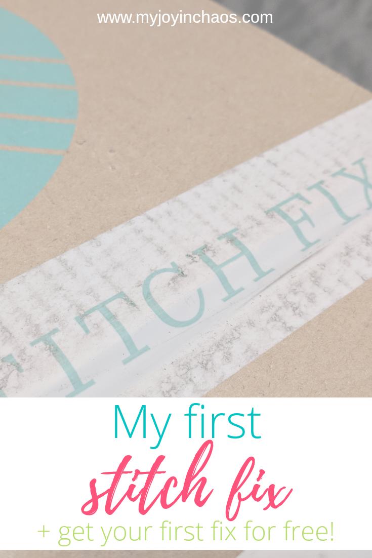 try stitch fix for free + stitch fix review