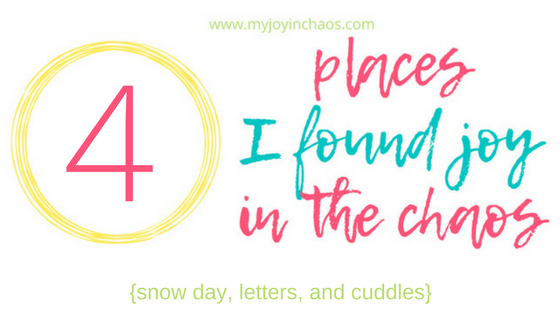 find joy in the chaos of everyday life