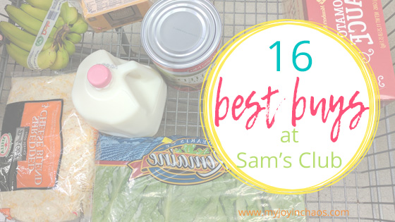 what to buy at Sam's Club