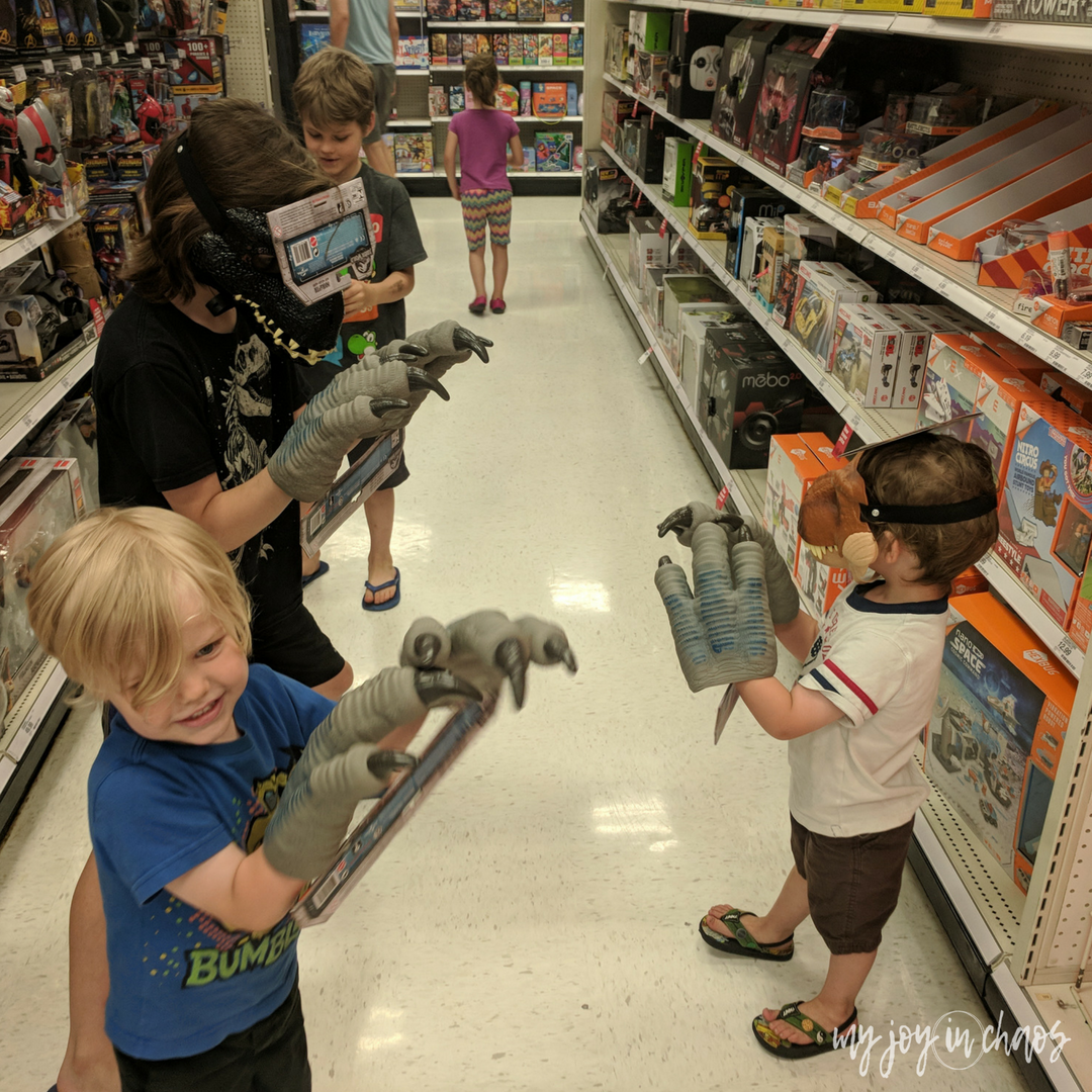 dinosaurs at target