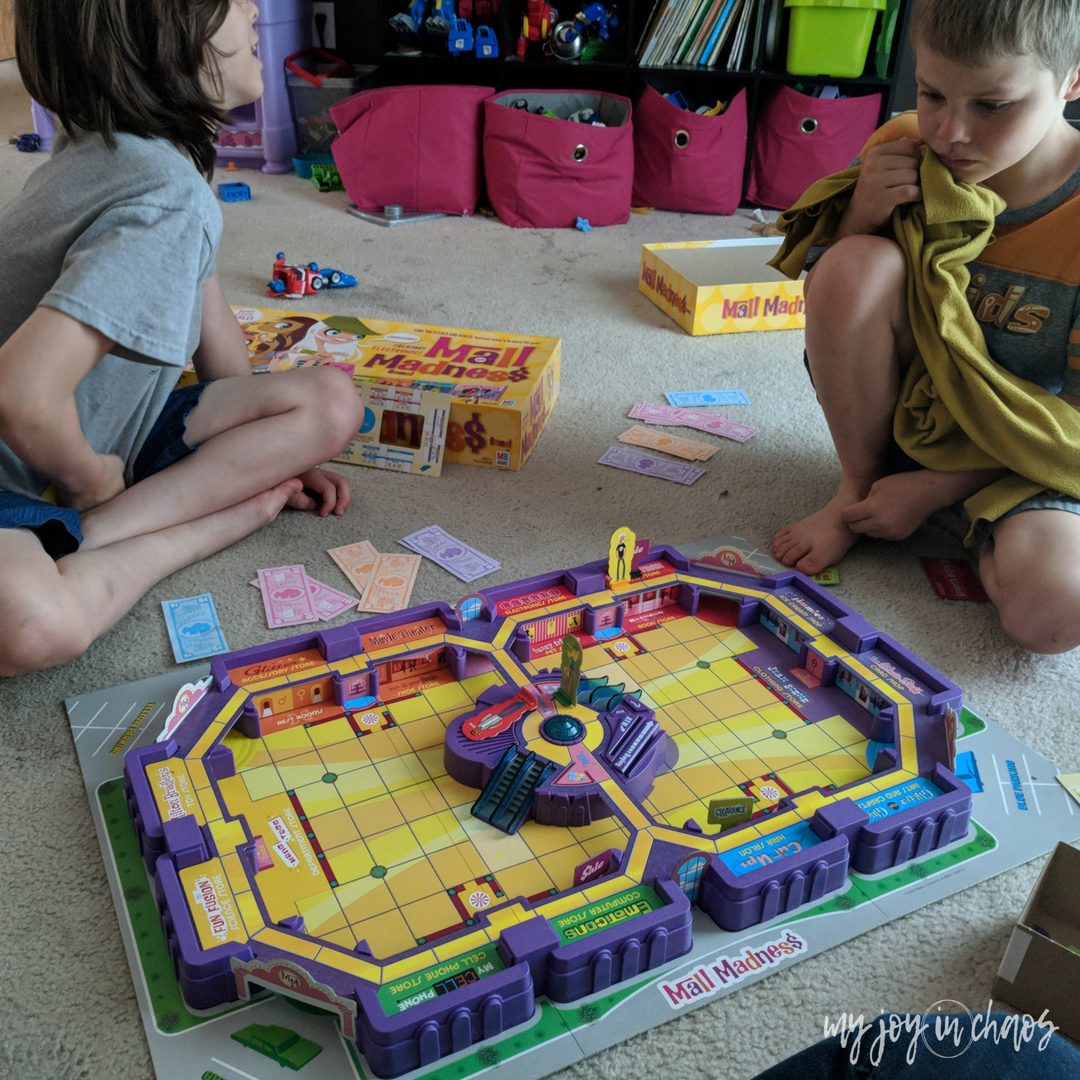 mall madness board game