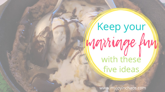 Your marriage relationship should be fun and enjoyable! Keep the fun going with these five relationship building ideas. #marriage #marriageadvice #dateyourspouse #christcenteredmarriage