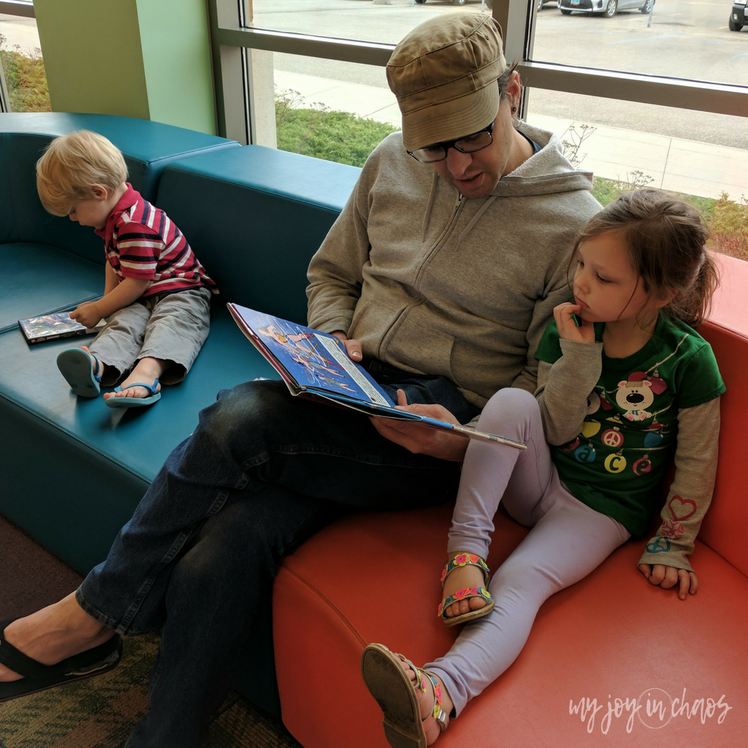 Use the library to keep your family reading for free