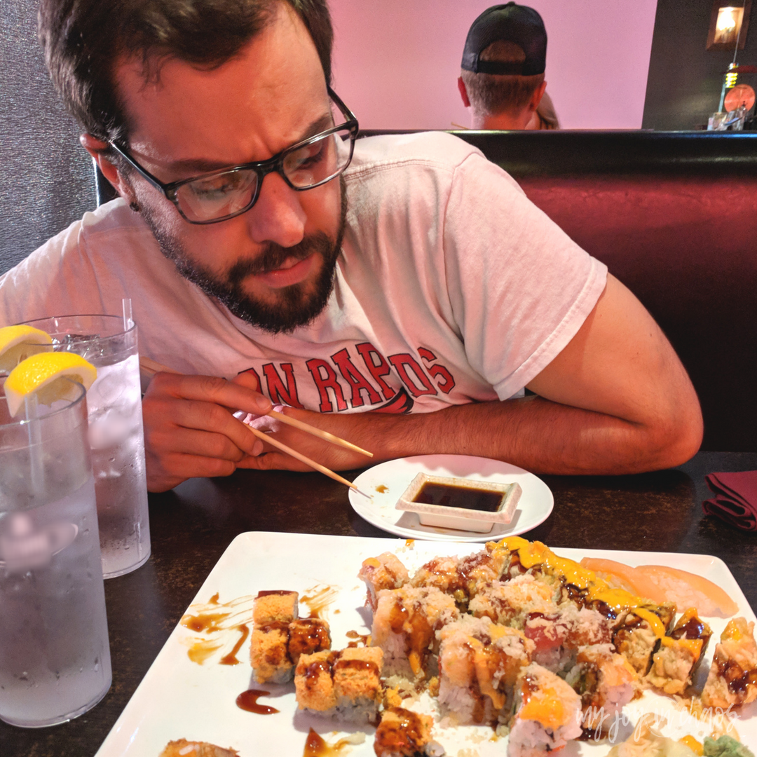 all you can eat sushi date night