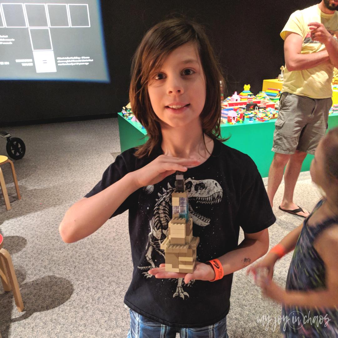 minnesota science museum LEGO exhibit