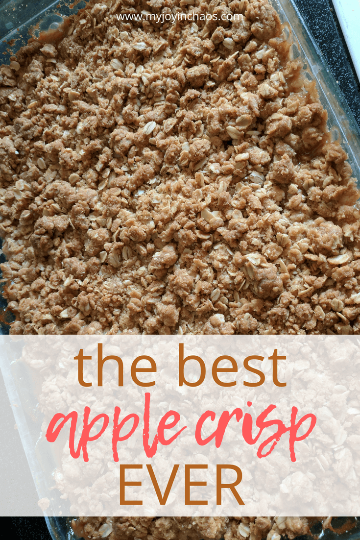 how to make apple crisp