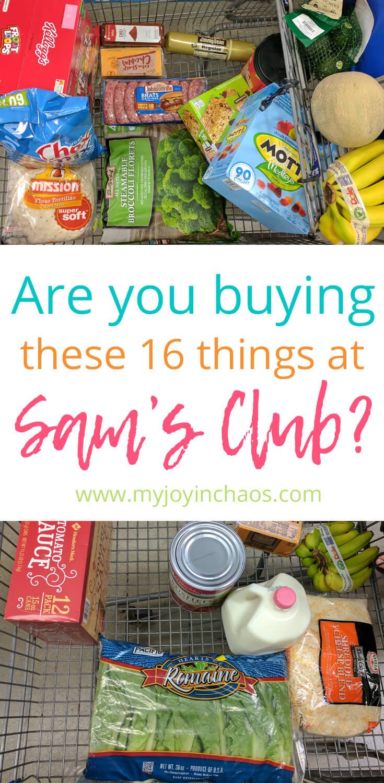 16 amazing buys from Sam's Club that you don't want to miss #samsclub #bulkshopping #bestsamsclubdeals #samsclubdeals
