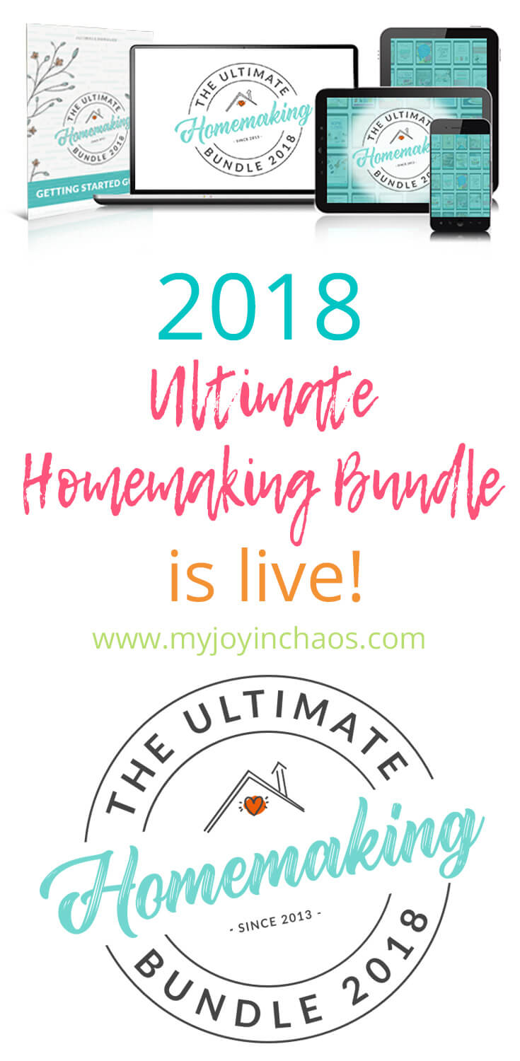 The Ultimate Homemaking Bundle 2018 is live - here's my favorite items included in the bundle plus why I think you should buy it and other frequently asked questions.