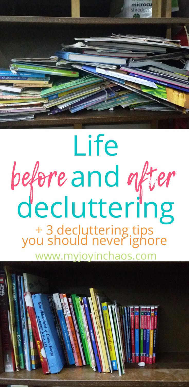 easy decluttering tips