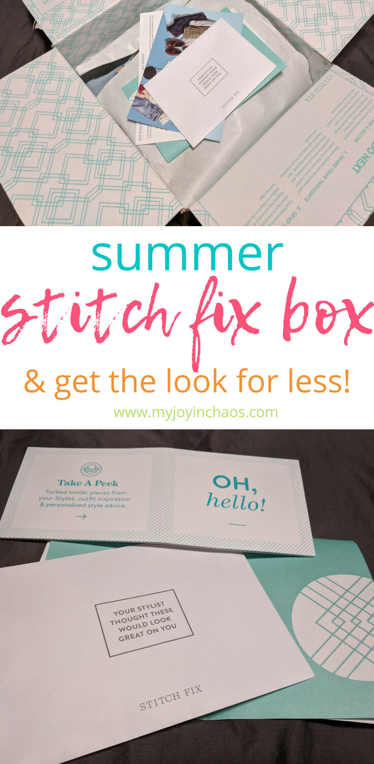 Summer 2018 Stitch Fix review - get your first Stitch Fix box for free and find the looks I got for less. #stitchfix #stitchfixreview #stitchfixcoupon