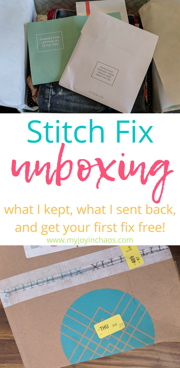 My latest box from StitchFix had some fabulous items in it! Check out my review of the items as well as sign up to get your first fix for free! #stitchfix #stitchfixreview #subscriptionbox #sitchfixcoupon #stitchfixforfree