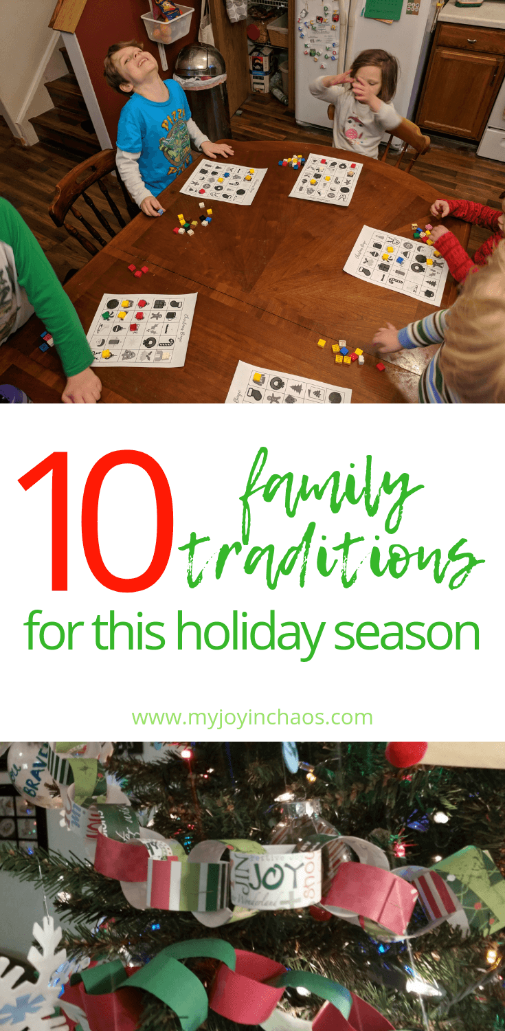 Traditions are a great way to keep the Christmas season memorable - as long as they are working for your family! The great part of being a parent is deciding what traditions you want to keep or ditch for your own family. #christmas #christmastraditions #familytraditions #familyholiday #holidaytraditions