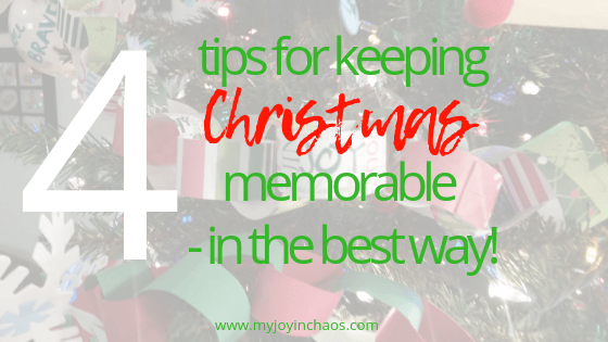 Christmas doesn't need to be hectic or full of stress. Pick a few favorites and let the rest go. Make this Christmas season full of the memorable moments - that you actually want to remember! #Christmasplans #Christmasactivities #Holidayplans #holidaytraditions #holidayactivities #reduceholidaystress #reduceChristmasstress