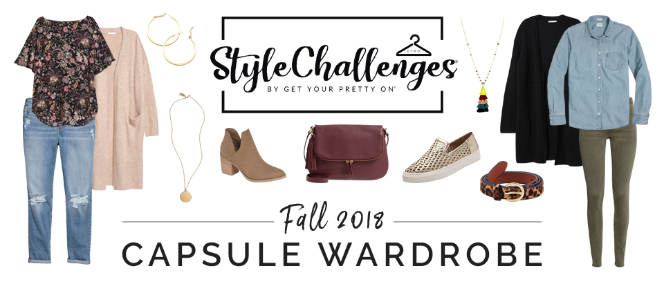 Fall 2018 Style Challenge Capsule Wardrobe