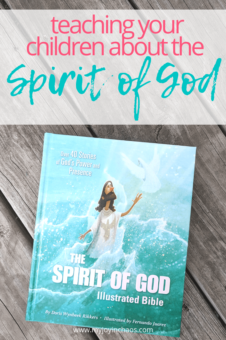 The Spirit of God Illustrated Bible for Kids is a beautiful and unique version of more than forty Bible stories focused on God's power and presence.