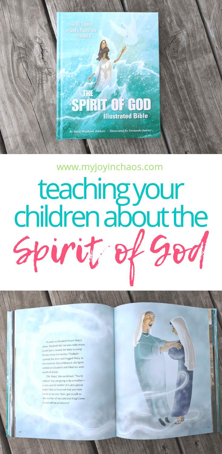 teaching children about the Spirit of God