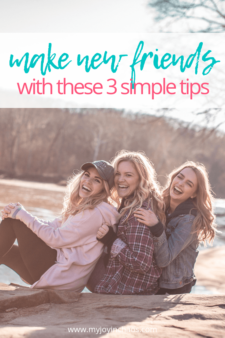 Finding relationships that cross from aquaintence to friendship means we need to do these three things. #motherhood #friendship #neverunfriended