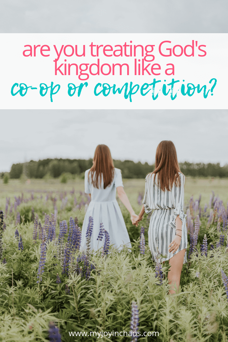 Sometimes God's plans for us may look similar to another person's but that's only from our vantage point. When you see someone doing the work you thought was planned for you do you cheer or try to one-up her?
