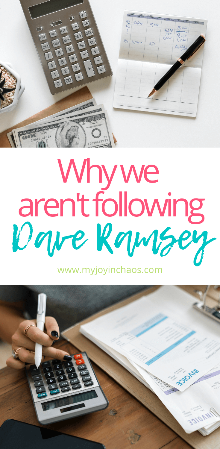 why you should stop following dave ramsey