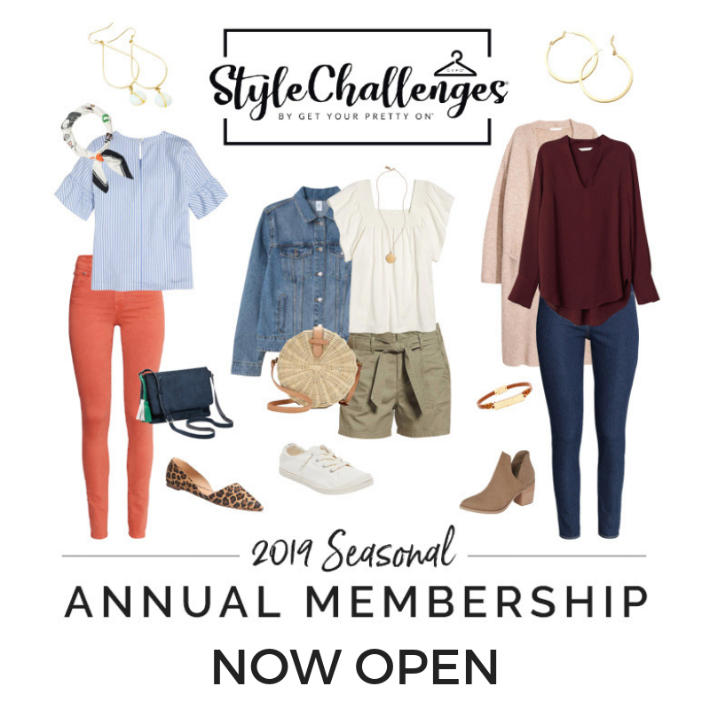 Style Challenges Annual Membership now open
