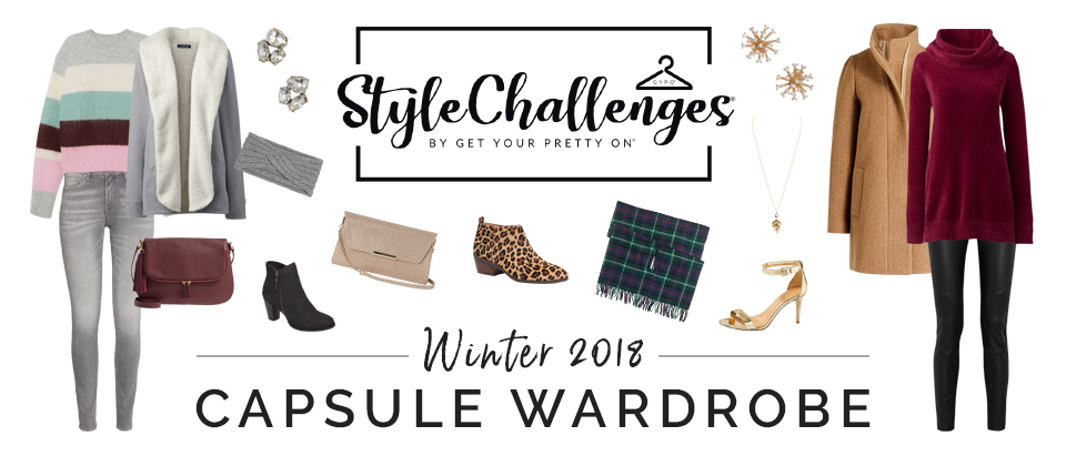 Winter 2018 Style Challenge Capsule Wardrobe is open!