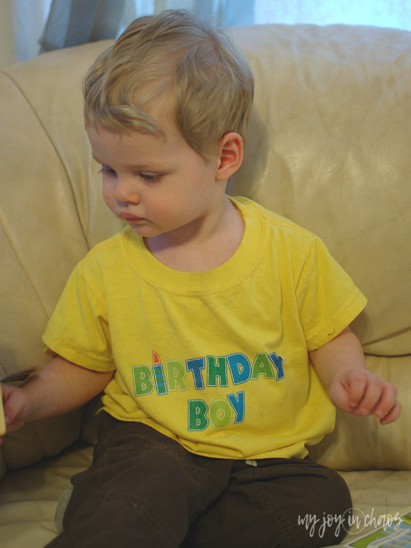 make your own birthday shirt