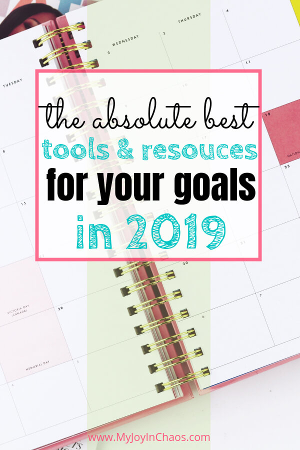 Tools & resources to achieve your goals this year