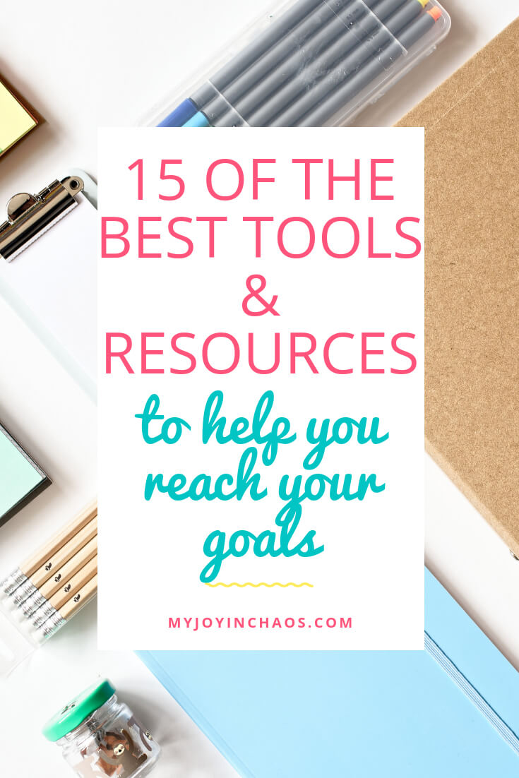 tools resources for goals