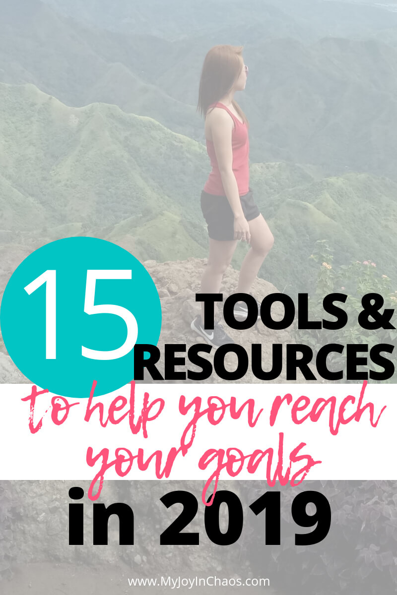 tools to reach goals