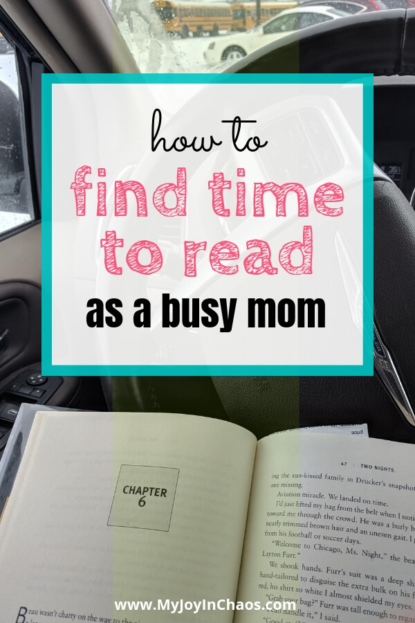 find time to read in the car while waiting