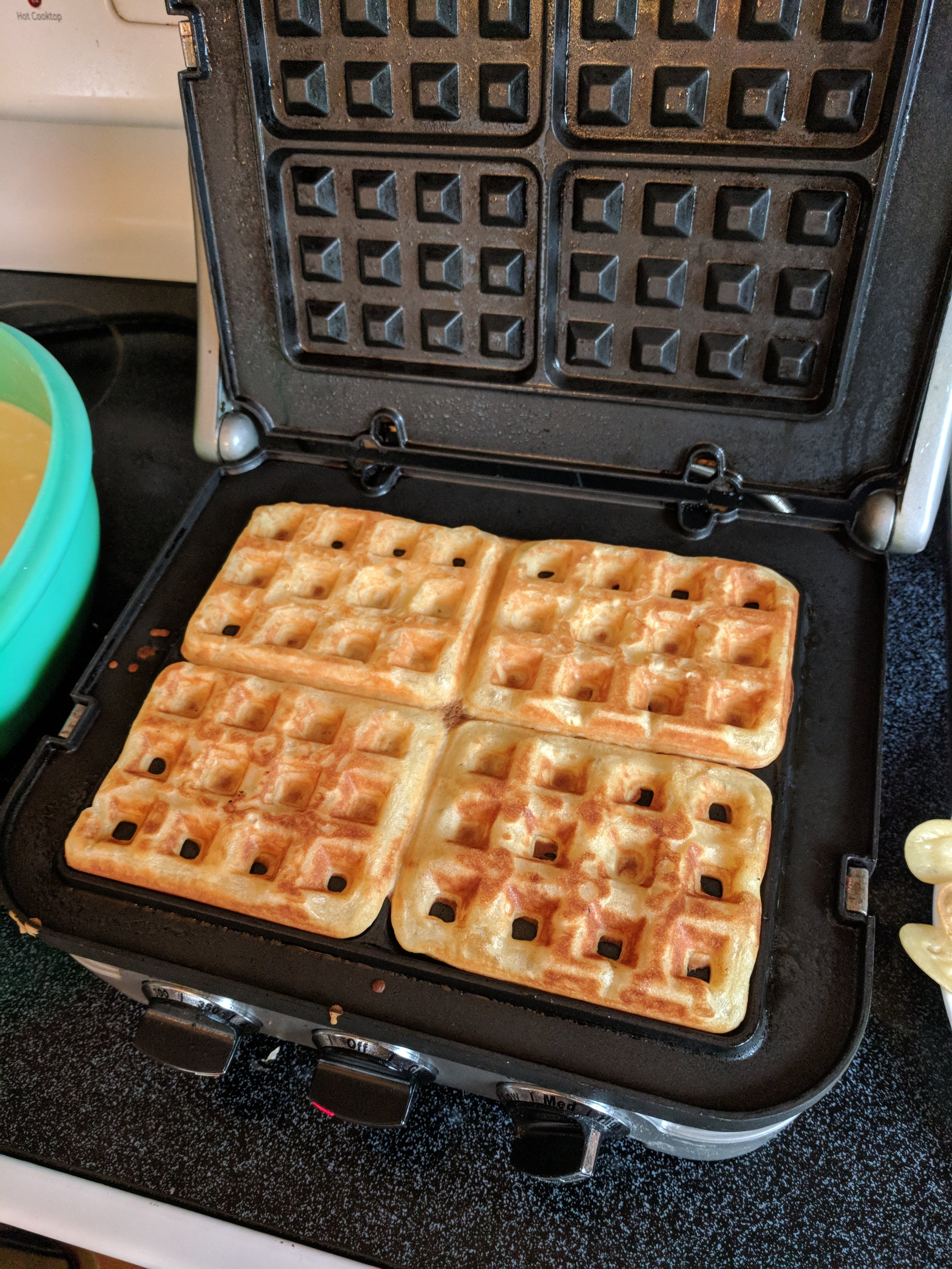 add the cuisinart griddler to your kitchen along with waffle plates